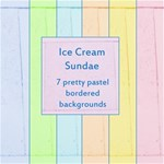 Ice Cream Sundae Pastel Backgrounds