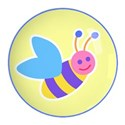 bumble bee button copy