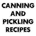 CANNING PICKLING