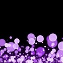Purple Confetti Background