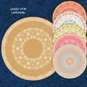 Round Paper Mats #1 Cover