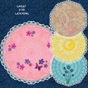 Round Lacy Mats #1 Cover