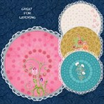 Round Lacy  Mats #2