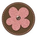 stickerbrownpink