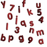 Red Alphabets