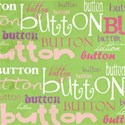 cute as a button_green word paper