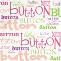 cute as a button_white word paper