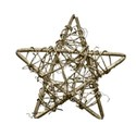 Christmas star gold