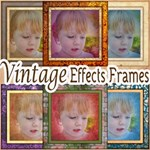 28 Square Vintage Frames-Makes Photos Look Vintage