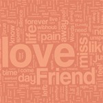 TEXT ART - LOVE, FRIENDS & FAMILY