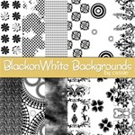 Black on White Backgrounds