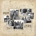 memories sample page