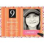 Poka-Dot Birthday Card