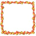 frame candy corn