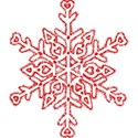 Snowflake_red1