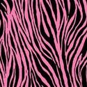 paper zebra pink