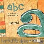 Kerfuffle Alphabet by Mikki