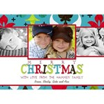 Merry Chirstmas Card (5x7)