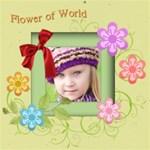 Flower world, kids