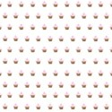 pink cupcake overlay layering paper