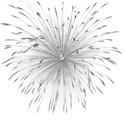 black firework