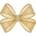gold single bow