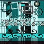 Delightful TEAL- lightful