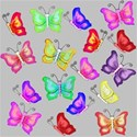 grey large butterfly background paper