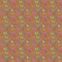 faded brown butterflies background paper