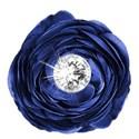 flower diamond blue