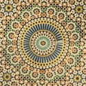 paper moroccan tile