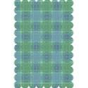 lighter blue green paper scrap