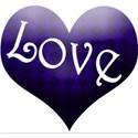 blue love heart2