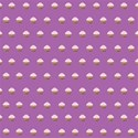 purple cupcake paper_vectorized