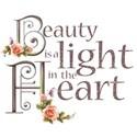 beauty is a light heart