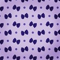 spotty blue bow paper