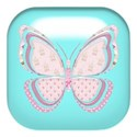butterfly tablet blue