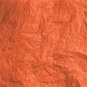 paper wrinkled orange