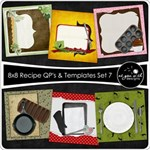 8x8 Recipe Cards - Set 7