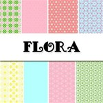 Flora -- Free Paper Pack!