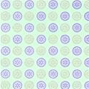 mint greenpurple