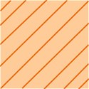 Orange Stripe Background