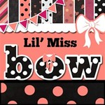 Lil  Miss Bow Kit -- Polka Dot  Kit with 3 Alpha!