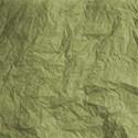 paper wrinkled green