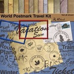 World postmark travel Kit