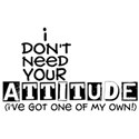 i don t need your attitude copy
