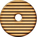 Round Stripe cookie