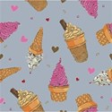 ice cream back ground