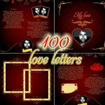 100 love letters for him