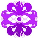 purple celtic flower